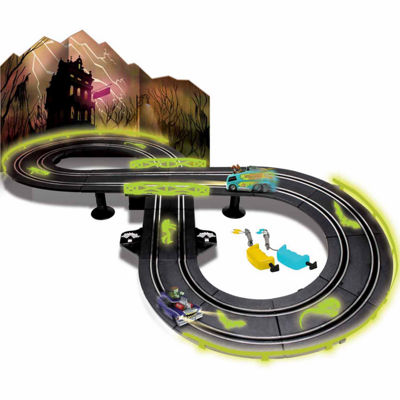 NKOK Glow In The Dark Scooby-Doo RC Slot Car RaceSet