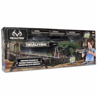 "NKOK RealTree 26"" Junior Compound Crossbow Set"""