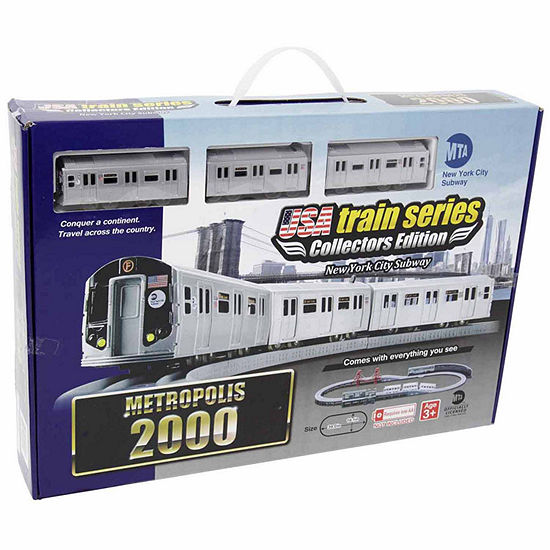 2000 Mta New York City Subway Battery Operated Train Set