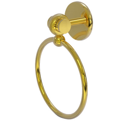 Allied Brass Satelite Orbit Two With Twist Accent Towel Ring