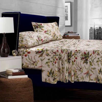 Tribeca Living Maui Floral Sheet Set