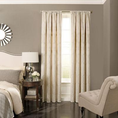 Beautyrest Odette Blackout Back-Tab Curtain Panel