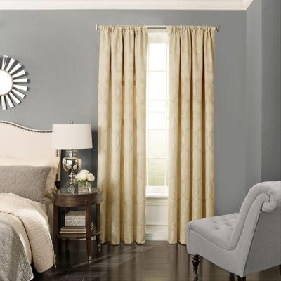 Beautyrest Odette Blackout Rod-Pocket Curtain Panel