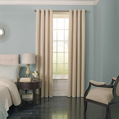 Beautyrest Malbrouk Blackout Grommet-Top Curtain Panel
