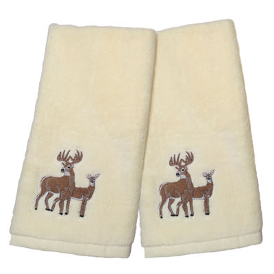Laural Home Deer Time 2-pc. Lodge Hand Towel