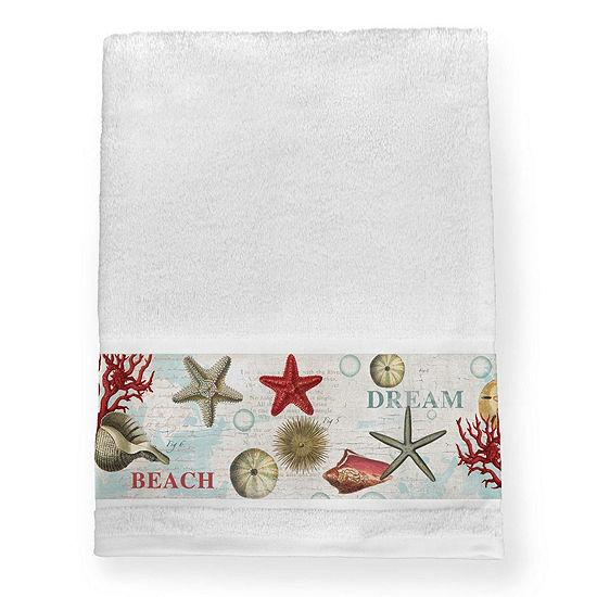Laural Home Dream Beach Shells Bath Towel