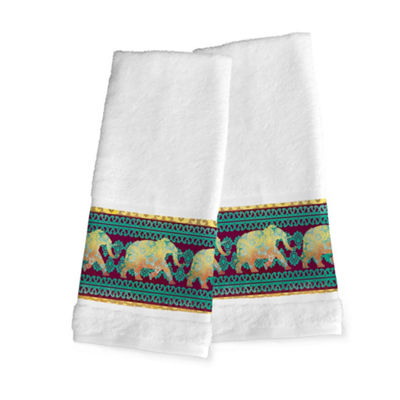Laural Home Marrakesh 2-pc. Bohemian Hand Towel