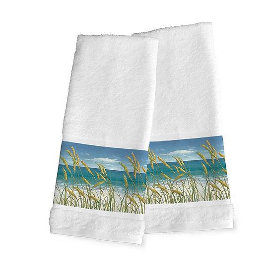 Laural Home Summer Breeze 2-pc. Beach + Nautical Hand Towel