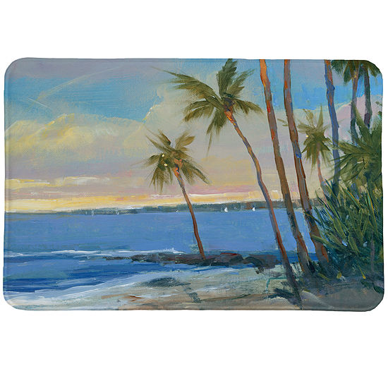 Tropical Breeze Memory Foam Bath Rug