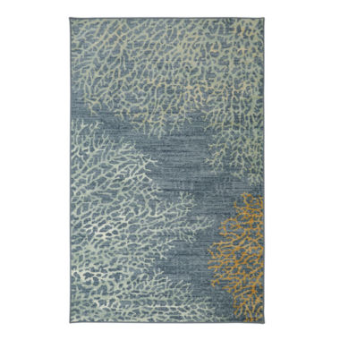 Mohawk Home Strata Coral Reef Printed Rectangular Rugs