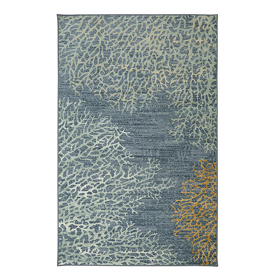 Mohawk Home Strata Coral Reef Printed Rectangular Indoor Rugs