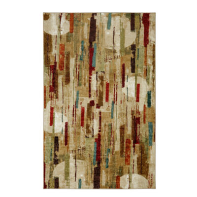 Mohawk Home Strata Facets Printed Rectangular Rugs