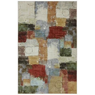 Mohawk Home Strata Gypsy Quilt Printed Rectangular Rugs
