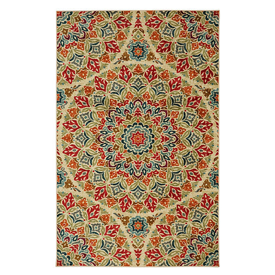 Mohawk Home Strata Jerada Printed Rectangular Indoor Rugs