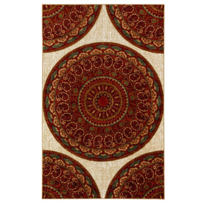 Mohawk Home Strata Mandala Road Printed Rectangular Indoor Area Rug