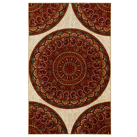 Mohawk Home Strata Mandala Road Printed Rectangular Indoor Rugs