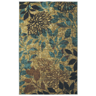 Mohawk Home Strata Mystic Garden Printed Rectangular Indoor Rugs
