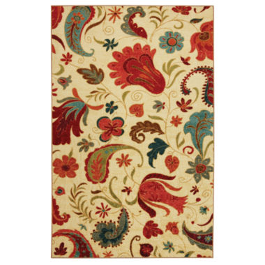 Mohawk Home Strata Tropical Acres Printed Rectangular Rugs