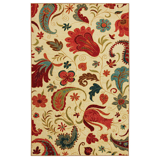 Mohawk Home Strata Tropical Acres Printed Rectangular Indoor Rugs