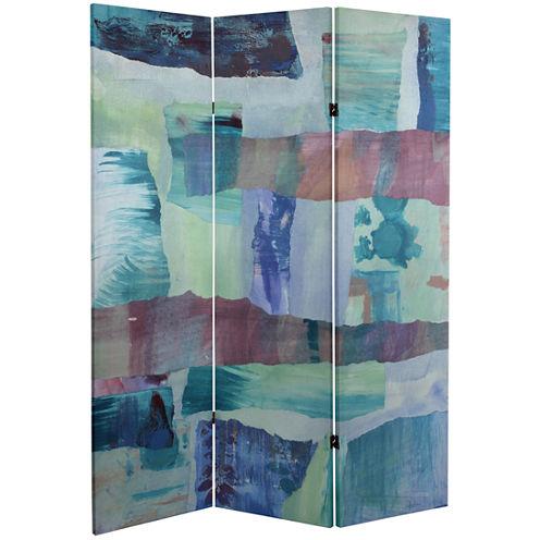 Oriental Furniture 5' Ocean Dance Canvas Room Divider