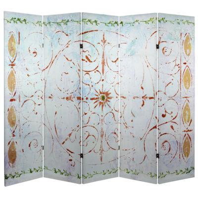 Oriental Furniture 5' Winter'S Peace Room Divider