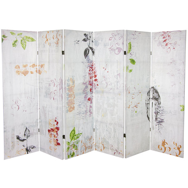 Oriental Furniture 5.25' Paradise Grove Room Divider