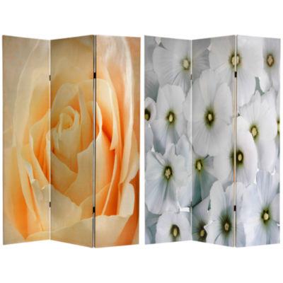 Oriental Furniture 6' Floral Room Divider