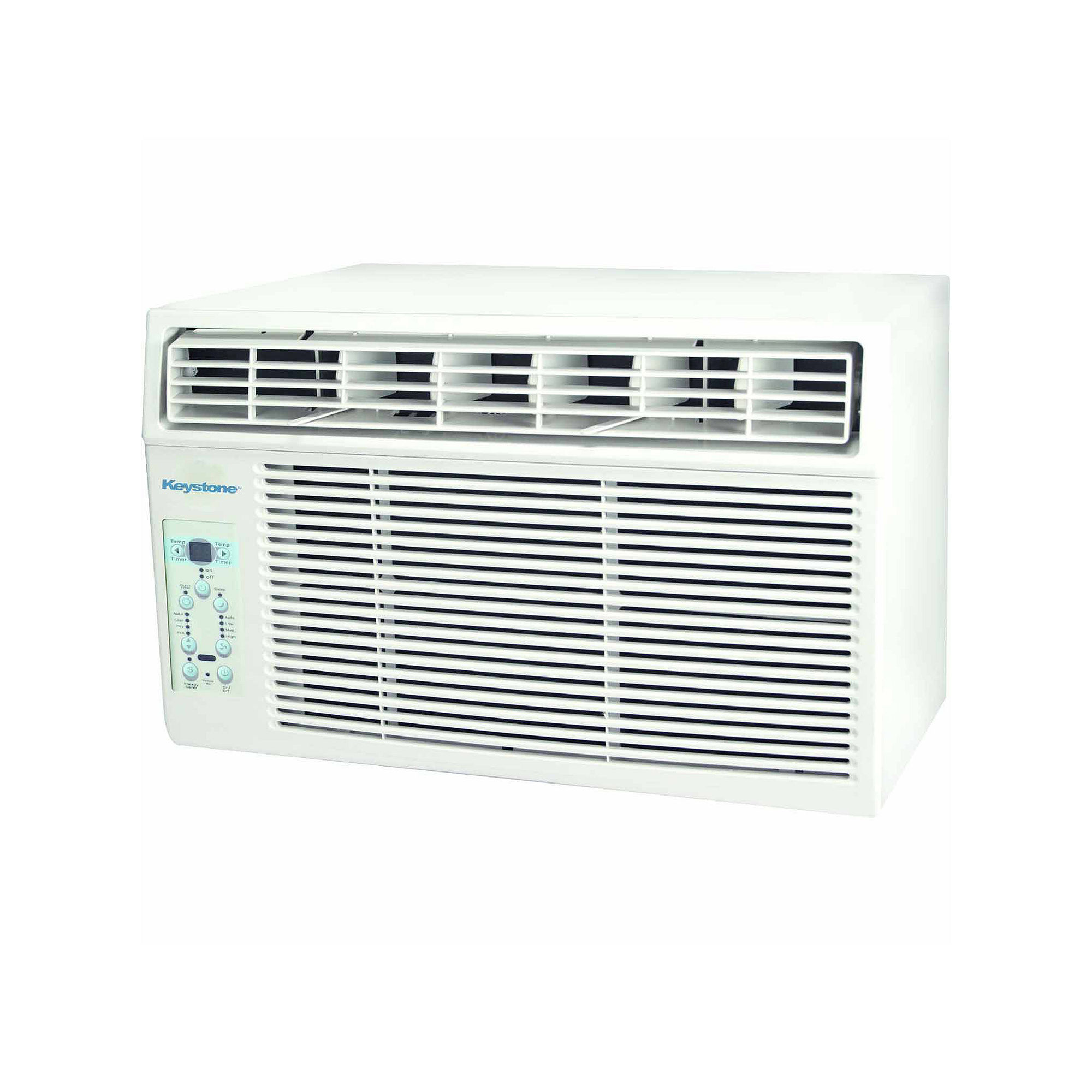 "Keystone Energy Star 5000 BTU Window-Mounted Air Conditioner with ""Follow Me"" LCD Remote Control"""