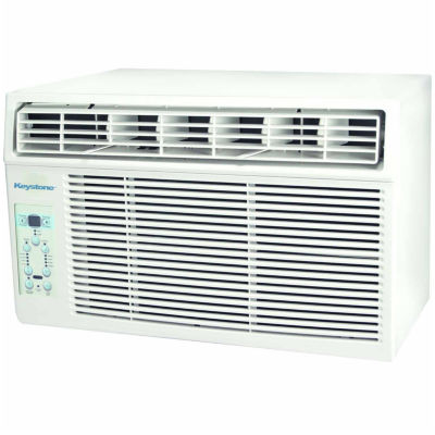 "Keystone Energy Star 10000 BTU Window-Mounted AirConditioner with ""Follow Me"" LCD Remote Control"""