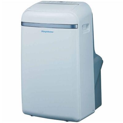 "Keystone 14000 BTU 115V Portable Air Conditioner with ""Follow Me"" LCD Remote Control"""