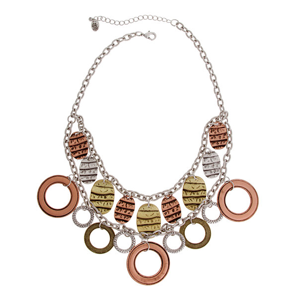 EL by Erica Lyons El By Erica Lyons July Tritone Statement Necklace