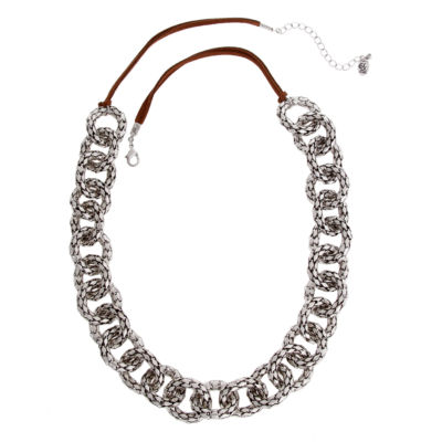 EL by Erica Lyons El By Erica Lyons July Tritone Womens 27 Inch Link Necklace