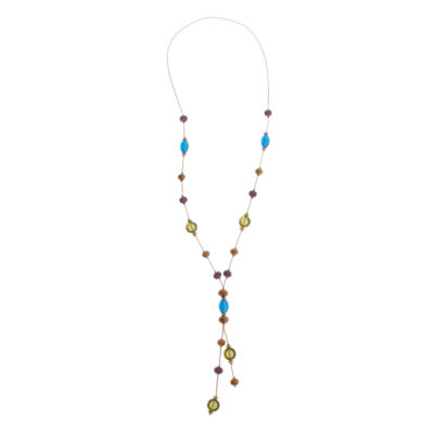 Mixit Spetember Mixit Color Newness Womens Y Necklace