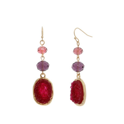 Mixit Spetember Mixit Color Newness Drop Earrings