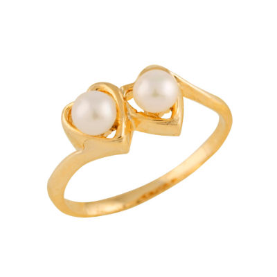 Girls 14K Gold Delicate Ring