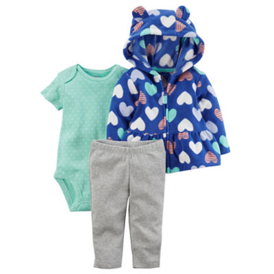 Carter's 3-pc. Pant Set Baby Girls