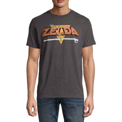 Original Zelda Short Sleeve Zelda Graphic T-Shirt