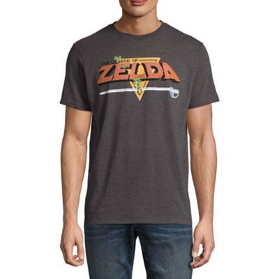 Original Zelda Short Sleeve Zelda Graphic T-Shirt