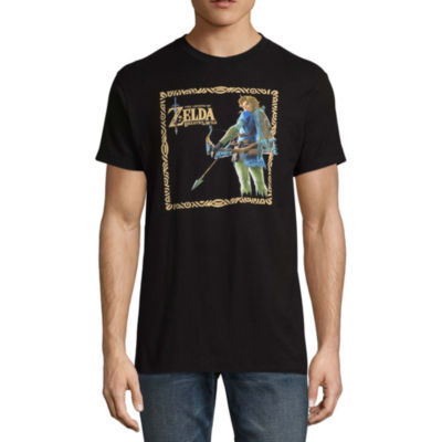 Conquerer Short Sleeve Zelda Graphic T-Shirt