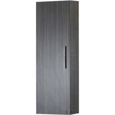 American Imaginations 12-in. W x 36-in. H Modern Plywood-Melamine Medicine Cabinet In Dawn Grey