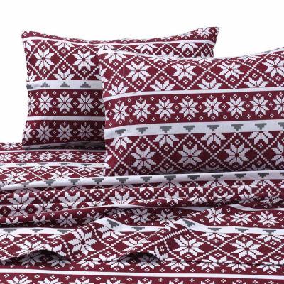 Tribeca Living Oslo Flannel Sheet Set