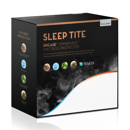 Woven Sleep Tite Encase Omniphase Mattress Protector