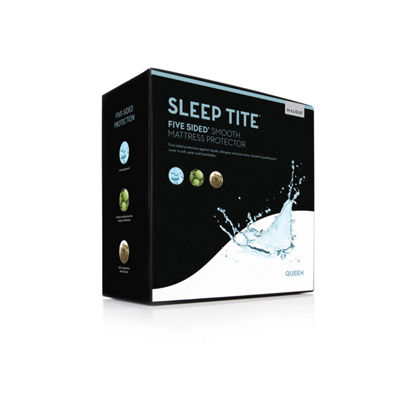 Malouf Sleep Tite Five-5ided Mattress Protector
