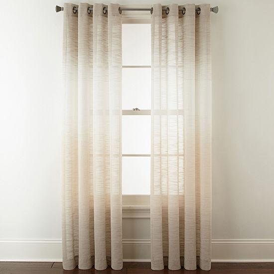 Studio Delano Grommet Top Sheer Curtain