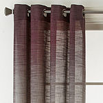 Studio Delano Sheer Grommet-Top Single Curtain Panel