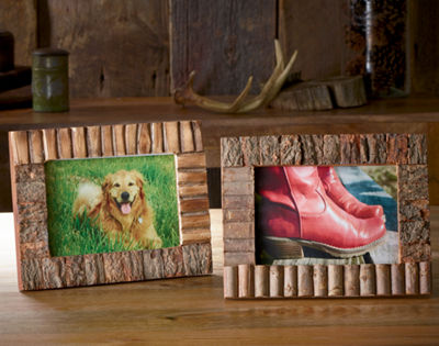 Rustic Wood Tabletop Frame