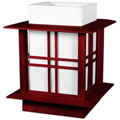 "Oriental Furniture 12"" Akida Table Lamp"""