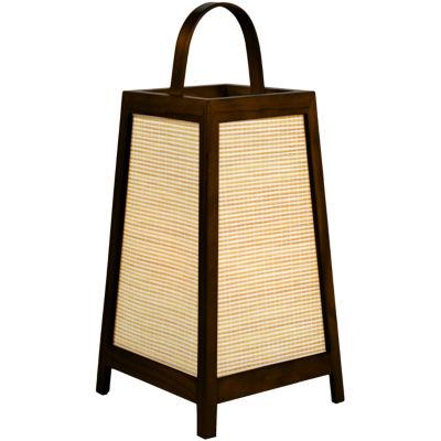 "Oriental Furniture 17"" Akida Table Lamp"""