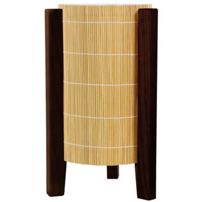 "Oriental Furniture 13"" Kago Table Lamp"""