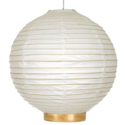 "Oriental Furniture 16"" Maru Bamboo Shoji Lantern Table Lamp"